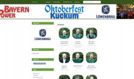 Weberstellung für Vereine www.Kuckum.de