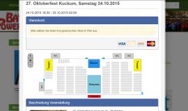 Ticket Shop mit Sitz/Saal-Plan